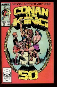 CONAN the KING #50, VF/NM, Kaluta, 1980 1989, Robert Howard, more in store