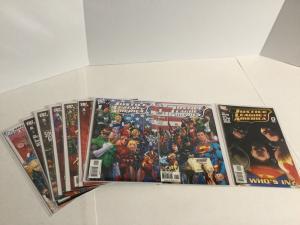 Justice League Of America 0 1-7 Lot Set Run Nm Near Mint DC Comics A38