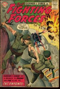 OUR FIGHTING FORCES #85-JOE KUBERT-DC WAR VG