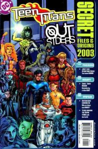 Teen Titans (2003 series) Secret Files #1, NM (Stock photo)