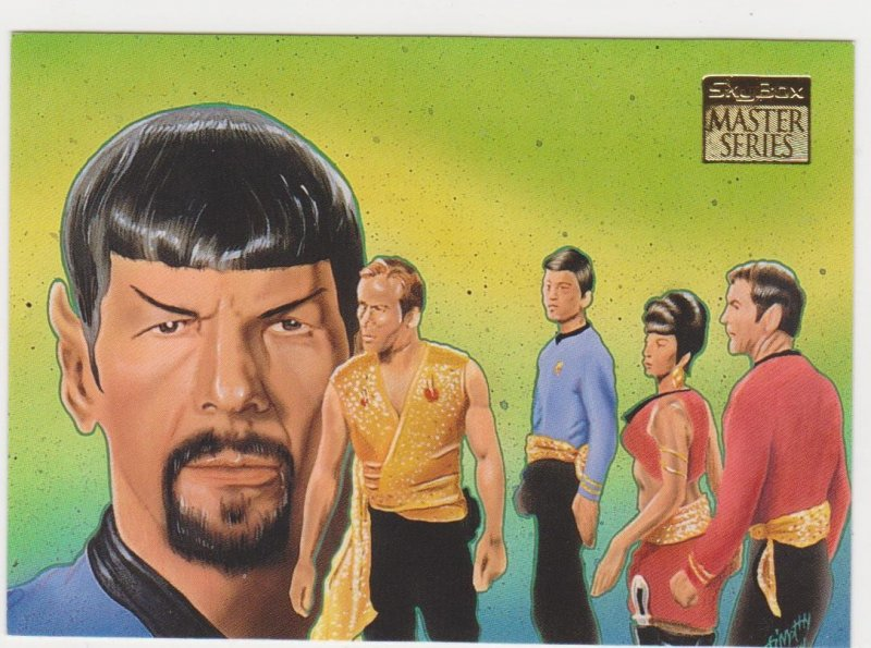 1993 Skybox Star Trek Master Series #90 Mirror Mirror