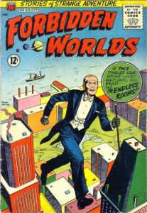 Forbidden Worlds (1951 series) #107, Good+ (Stock photo)