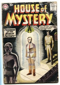 House of Mystery #93 1959- Grey Tone cover- Horror/sci-fi