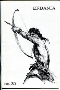 Erbania #22 1968-Edgar Rice Burroughs-Tarzan-Roy Krenkel-info-pix-art- FN