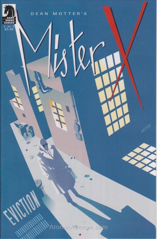 Mister X: Eviction #2 FN; Dark Horse | save on shipping - details inside