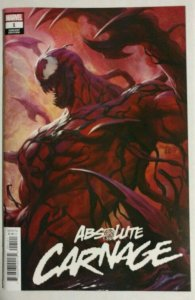 Absolute Carnage lot; #1 cover A & B. Cult of Carnage, Scream 2 all NM or better