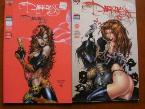 2 Top Cow Image SEMIC EDITION Comic: THE DARKNESS #11 & TALES OF THE DARKNESS #9