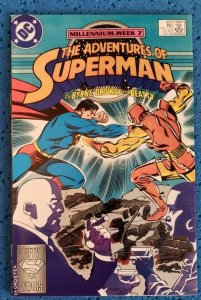 Adventures of Superman #437 (DC, 1988) NM- 9.2 John Byrne, Jerry Ordway