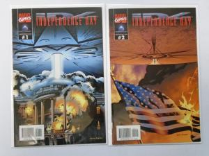 Independence Day (1996 Movie) Set:#1+2, 8.0/VF (1996)