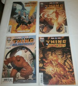 Marvel Two-in-One (vol. 3, 2018) #9-12 (set of 4) Thing/Human Torch, Zdarsky