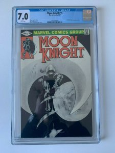 Moon Knight #15 1st Direct Sales Only Issue (1980 Series)  -  CGC 7.0