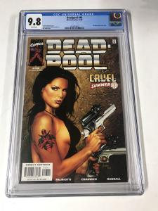 Deadpool (1997 series) #46 CGC 9.8