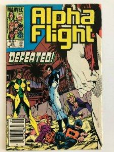 Alpha Flight #26 Marvel 1985 VF