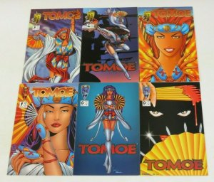 Tomoe #0 & 1-3 VF/NM complete series + variant + fan edition - shi spin-off set