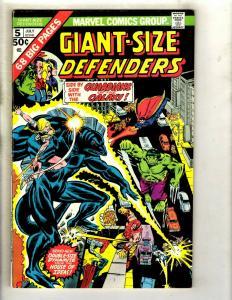 Giant-Size Defenders # 5 VF/NM Marvel Comic Book Hulk Sub-Mariner Dr Strange GK3