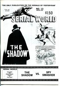 Serial World #13 1978-Spy Smasher-Shadow-movie serials-FN