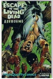 ESCAPE of the LIVING DEAD : AIRBORNE #1, NM, Zombies, 2006, more Horror in store