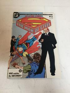 Man Of Steel Issue 4 Vf/Nm Very Fine/Near Mint 9.0