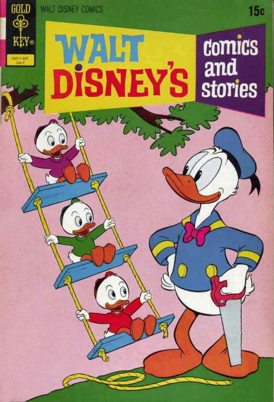 Walt Disney's Comics and Stories #382 VG; Dell | low grade comic - save on shipp