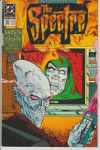 THE SPECTRE #26 - GHOSTS IN THE MACHINE - DC - BAGGED & BOARDED