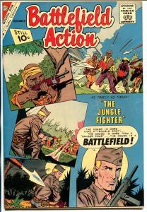 Battlefield Action #39 1961-Charlton-jungle fighter-high grade-NM