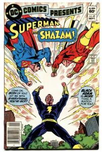 Dc Comics Presents #49 comic book Black Adam Cover comic book 1982