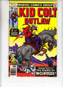 Kid Colt Outlaw #224 (Jun-78) VF/NM High-Grade Kid Colt