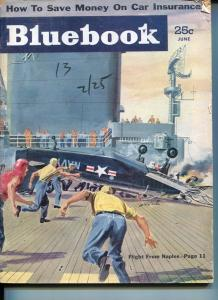 BLUE BOOK PULP-JUNE 1954-VG-KOTULA COVER-DUNCAN-FERRIS-JOHNSON-AIRCRAFT CA VG