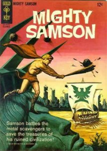 Mighty Samson #4 FN; Gold Key | save on shipping - details inside