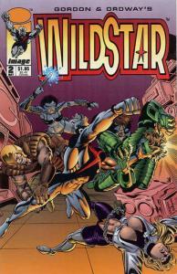 Wildstar: Sky Zero #2 VF/NM; Image   save on shipping - details inside