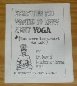 Everything You Wanted To Know About Yoga #1 VF- jay kinney underground comix