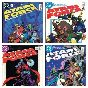 Atari Force #1-4,6-9, 15-19 #36 (DC, 1984-1986) - 13 Issues