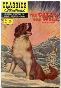 Classics Illustrated #91 HRN 92- Call of the Wild EGYPTIAN COLLECTION