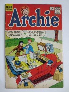 ARCHIE  135 VG- 3/1963 COMICS BOOK