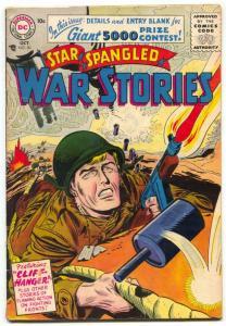Star Spangled War Stories #50 1956- DC Silver Age War comic VG+