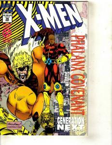 12 X-Men Marvel Comics # 36 37 38 39 40 41 Avalon + X-Babies + Bishop + SP+ JF24