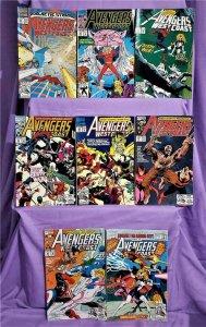 Roy Thomas AVENGERS WEST COAST #82 - 88, Annual #7 Dave Ross (Marvel, 1992)!
