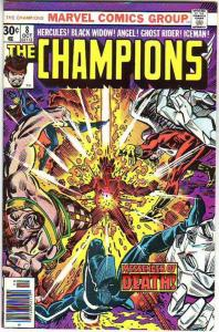 Champions, The #8 (Jul-76) VF+ High-Grade Ghost Rider, Hercules, Black Widow,...