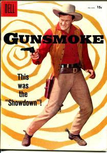 Gunsmoke #7 1958-Dell-James Arness photo cover-TV series-VF