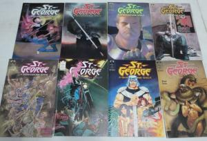 SAINT GEORGE   1-8 Shadowline,Jim LEE,Terror