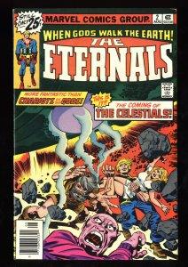 Eternals #2 VF/NM 9.0 1st Ajak Arishem and the Celestials!