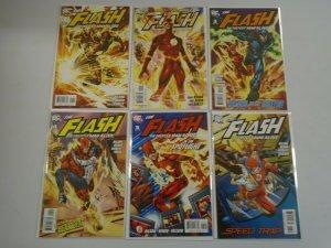 Flash Fastest Man Alive run #1-6 8.0 VF (2006-07)