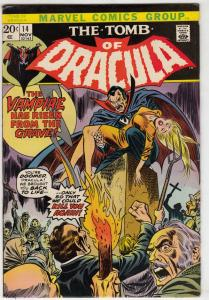 Tomb of Dracula #14 (Nov-73) FN/VF Mid-High-Grade Dracula