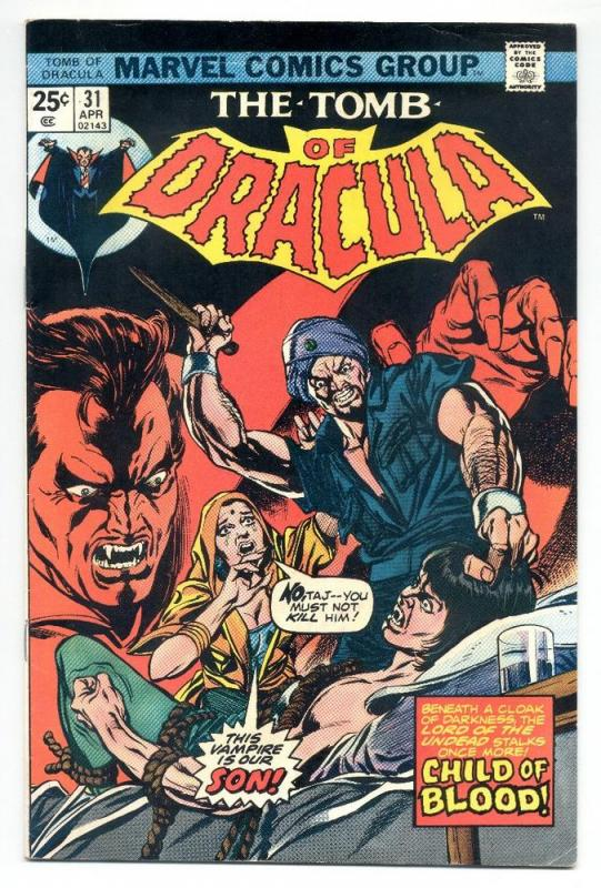 The Tomb of Dracula #31