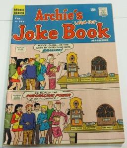 ARCHIES JOKE BOOK (1954-1982)145 VG-F Feb. 1970