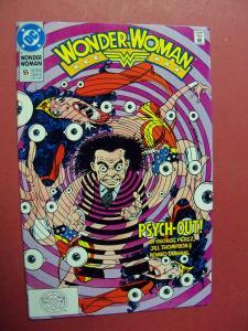WONDER WOMAN #55 HIGH GRADE BOOK (9.0 to 9.4) OR BETTER 1ST Print 1987