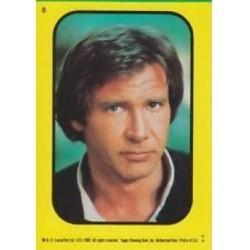 1983 Topps RETURN OF THE JEDI - HAN SOLO Sticker #8