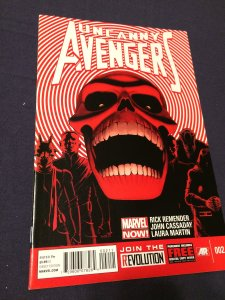 Uncanny Avengers #2 (2012) NM/MT Marvel Comics