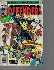 Defenders #62 (Marvel, 1978) High Grade