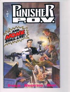 Punisher P.O.V. # 1 NM Marvel Comic Books Graphic Novel Daredevil Spider-Man S83